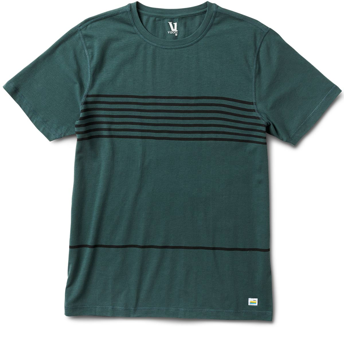 Tuvalu Tee | Canyon Stripe