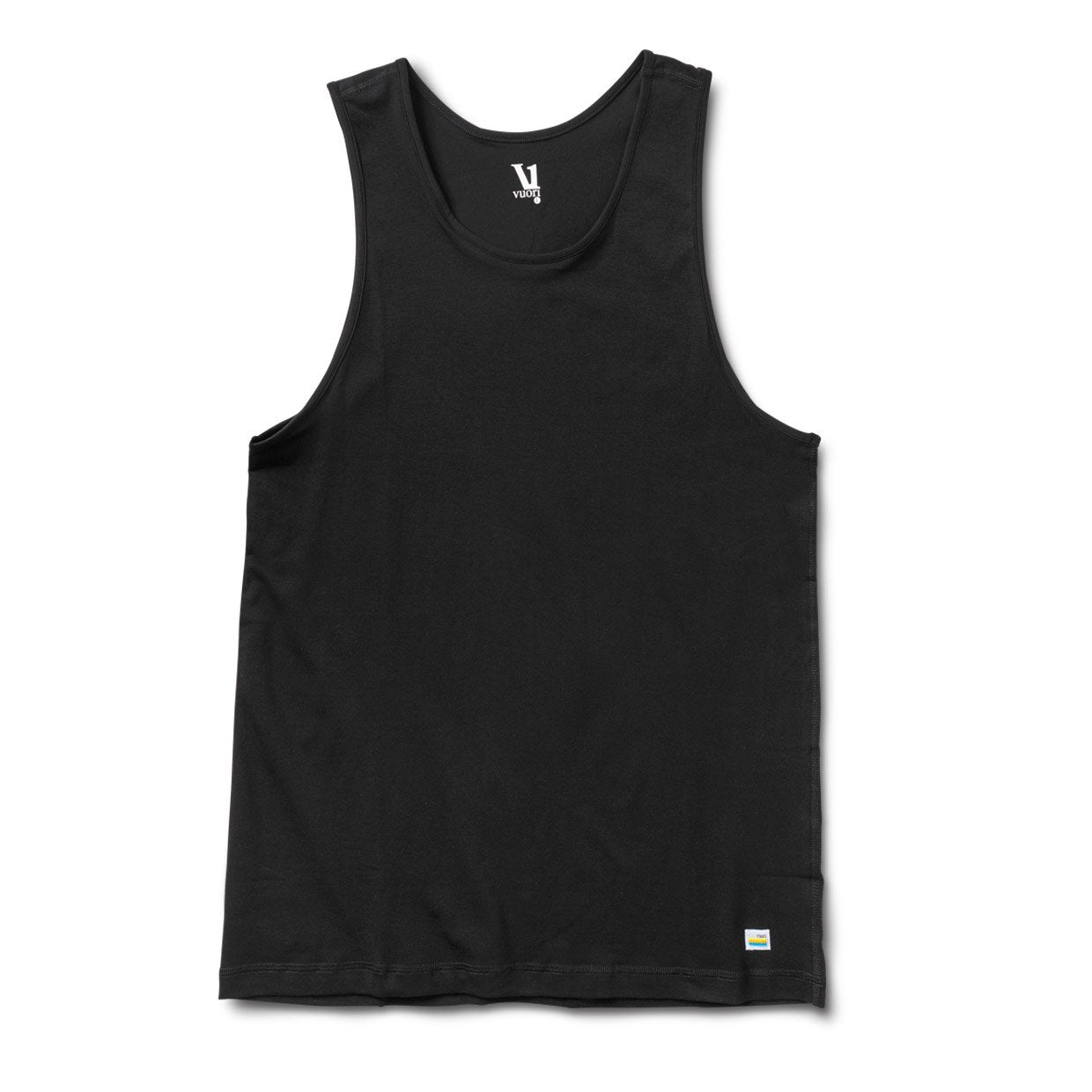 Tuvalu Stretch Tank - Black - Black 1