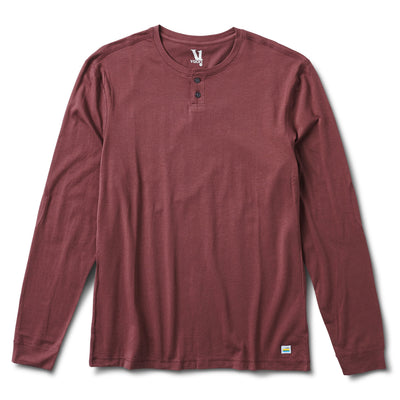 Long-Sleeve Ever Henley | Fig