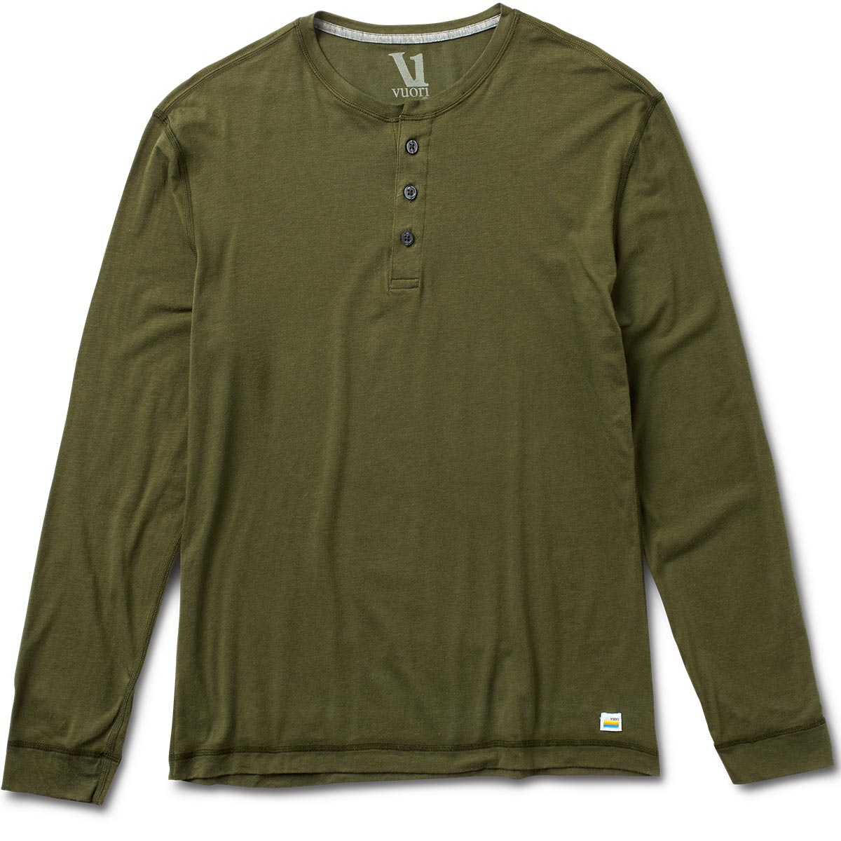 Long-Sleeve Ever Henley | Olive