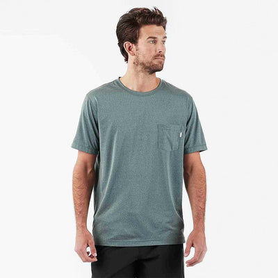 Tradewind Performance Tee | Canyon Heather