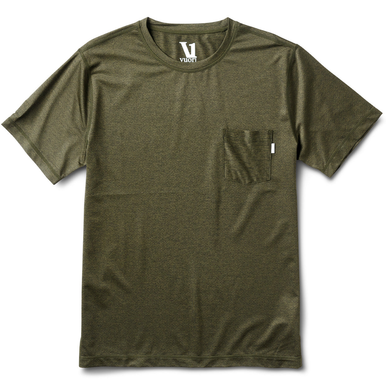 Tradewind Performance Tee | Evergreen Heather
