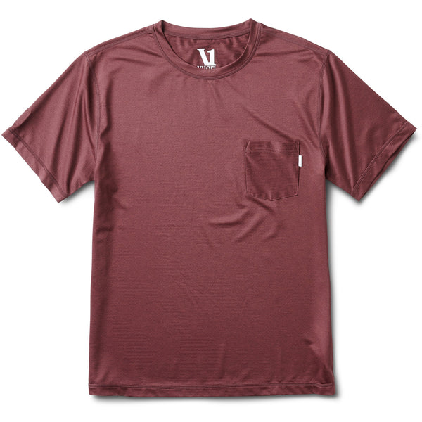 Tradewind Performance Tee | Fig Heather