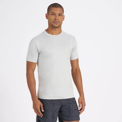 Tradewind Performance Tee | Mineral Heather