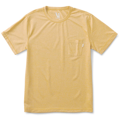 Tradewind Performance Tee | Saffron Heather