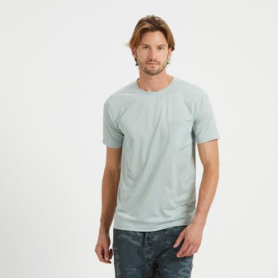 Tradewind Performance Tee | Sea Glass Heather