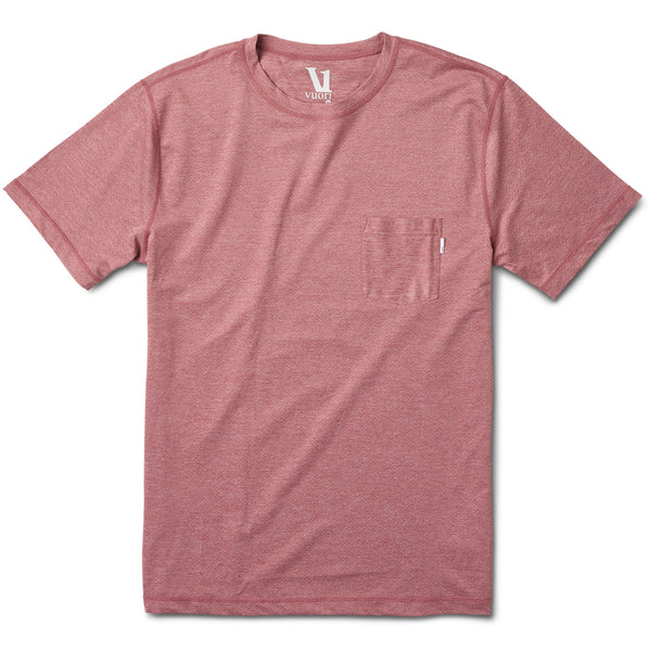 Tradewind Performance Tee | Saltwater Red Heather