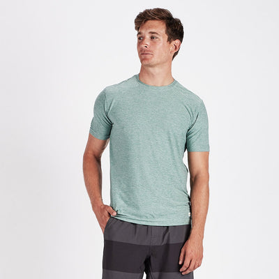Strato Tech Tee | Aloe Heather