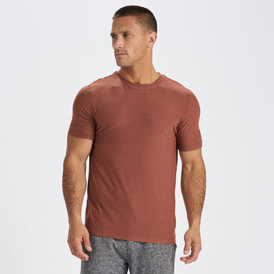 Strato Tech Tee | Copper Heather