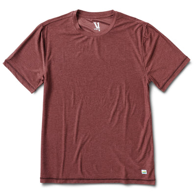 Strato Tech Tee | Fig Heather