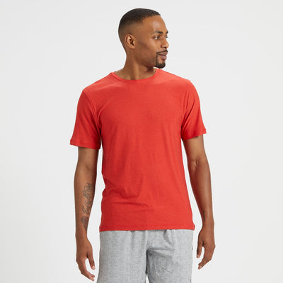 Strato Tech Tee | Melon Heather