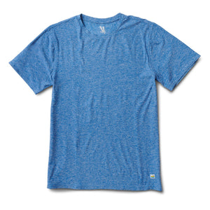 Strato Tech Tee - Ocean Heather - Ocean Heather 1