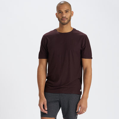 Strato Tech Tee | Oxblood Heather