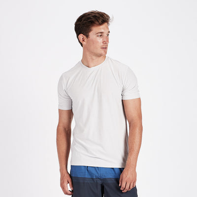 Strato Tech Tee | Salt Heather