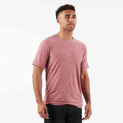 Strato Tech Tee | Saltwater Red Heather