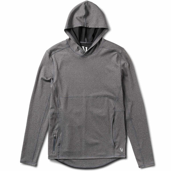 Fusion Tech Hoodie | Charcoal Heather