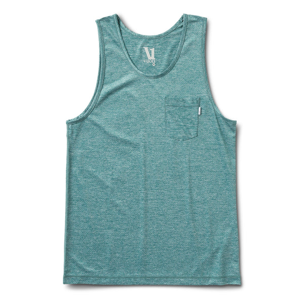 Tradewind Performance Tank | Palm Heather