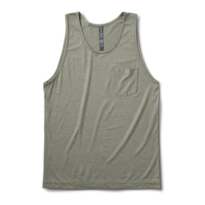 Tradewind Performance Tank | Army Heather