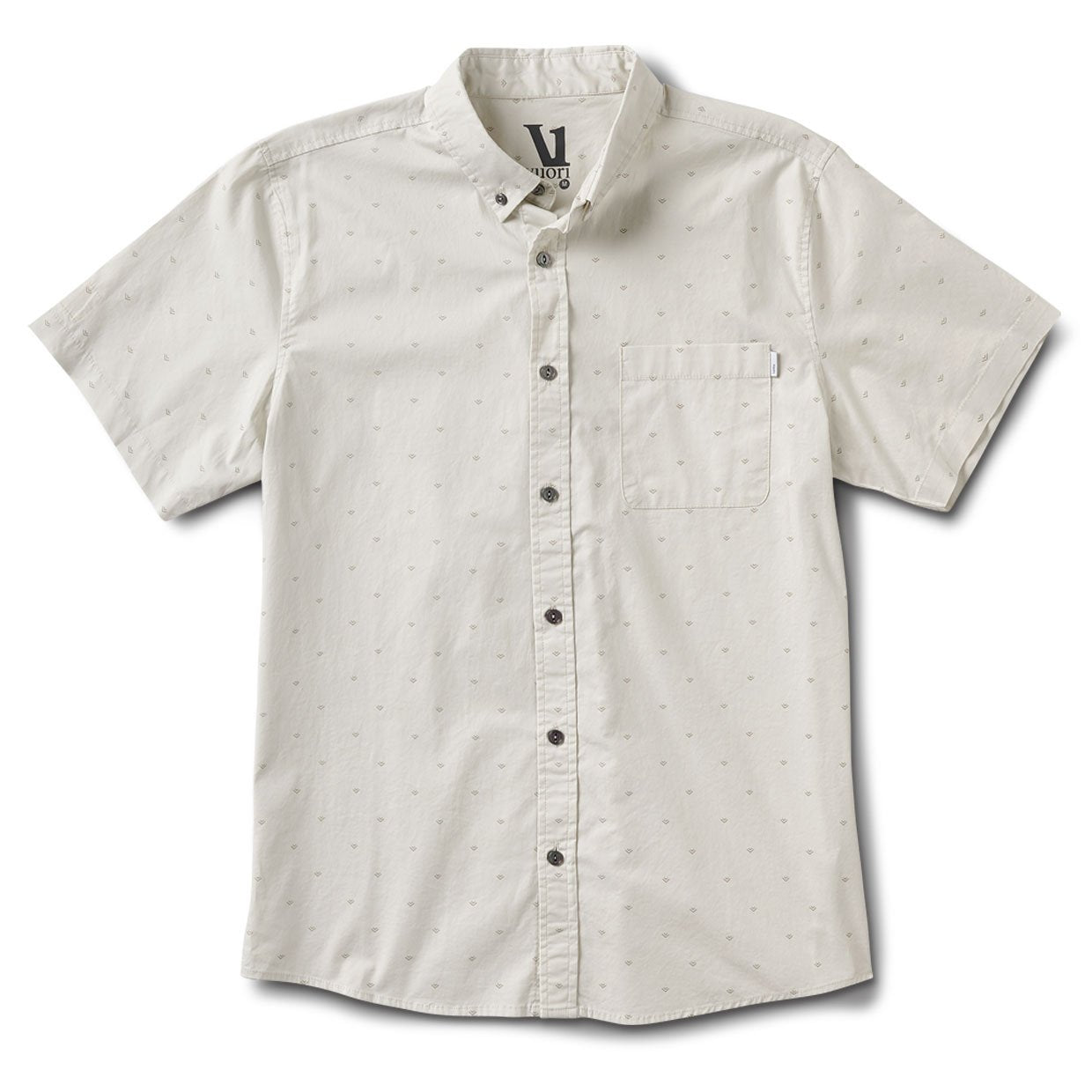 Crest Short-Sleeve Button-Down | Salt Arrow