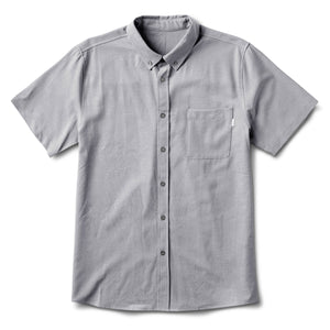 Bishop Short-Sleeve Button-Down | Light Grey