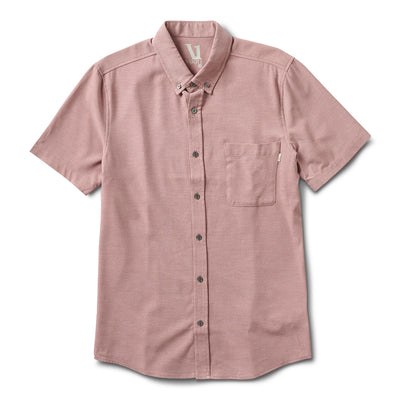 Bishop Short-Sleeve Button-Down | Saltwater Red