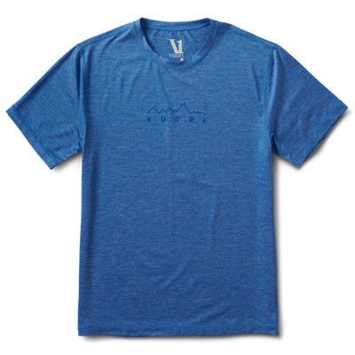 Mountain Line Tech Tee | Azure