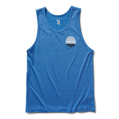 Watermans Sun Stripe Tank | Ocean Heather