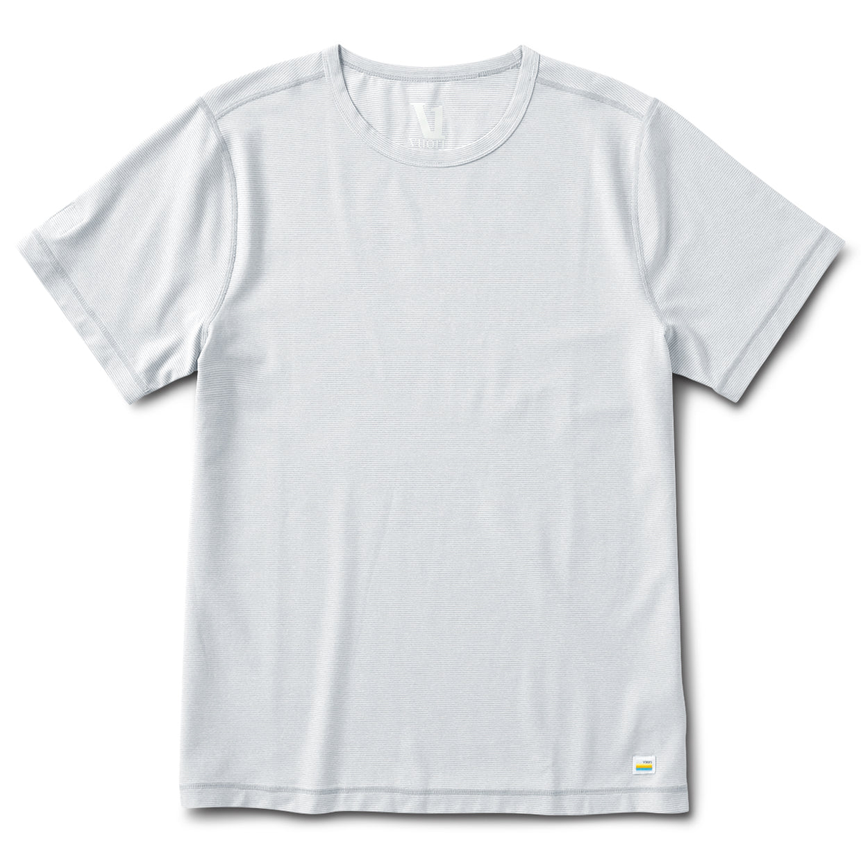 Flux Tee | Heather Grey