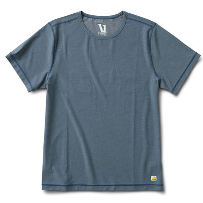 Flux Tee | Indigo Heather