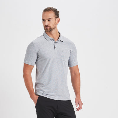Ace Polo | Light Grey