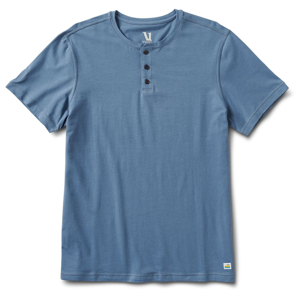 Short-Sleeve Ever Henley | Cloud