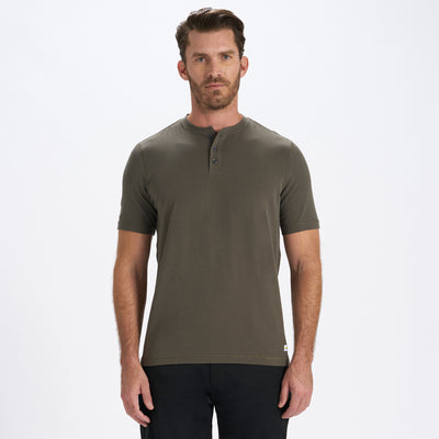 Short-Sleeve Ever Henley | Oregano