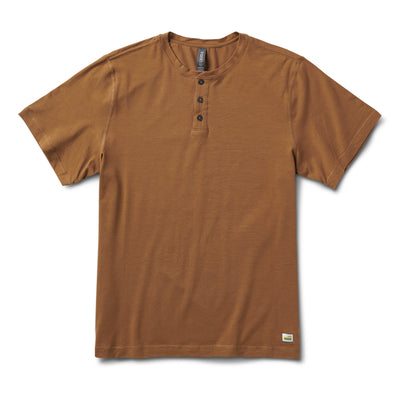Short-Sleeve Ever Henley | Tobacco