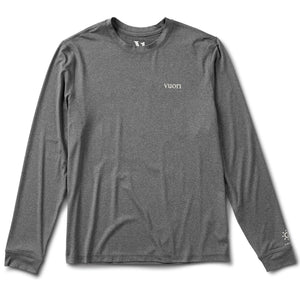 Long-Sleeve Uluwatu Water Tee | Charcoal Heather