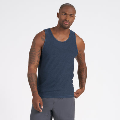 Strato Tech Tank | Navy Heather