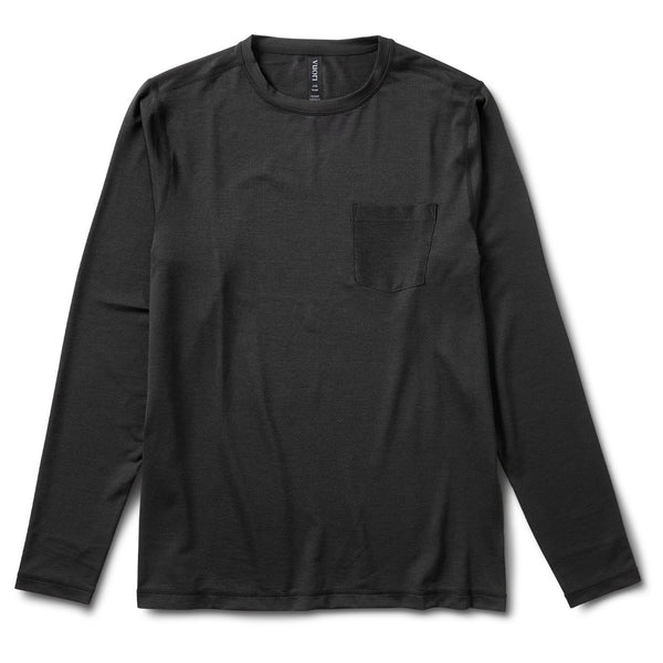 Long-Sleeve Tradewind Performance Tee | Black