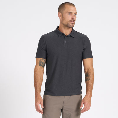 Strato Tech Polo | Charcoal Heather