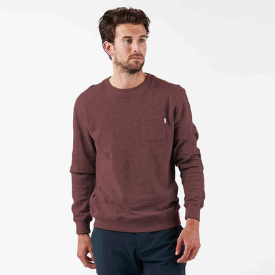 Jeffreys Pullover | Fig Heather