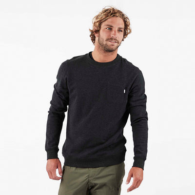 Jeffreys Pullover | Black Heather
