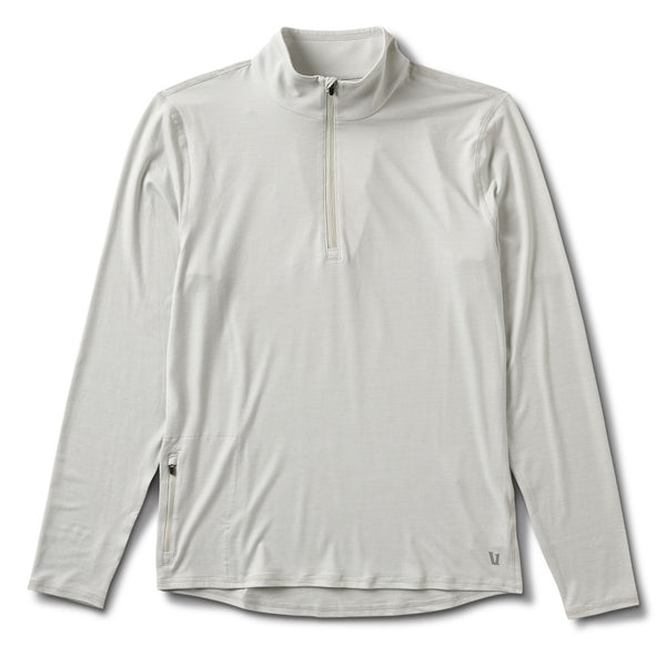 Ease Performance Half Zip | Dove Grey Heather