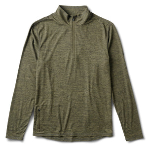Ease Performance Half Zip | Evergreen Heather