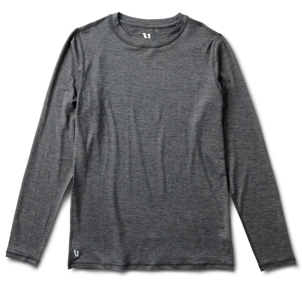 Ease Crew Neck | Charcoal Heather