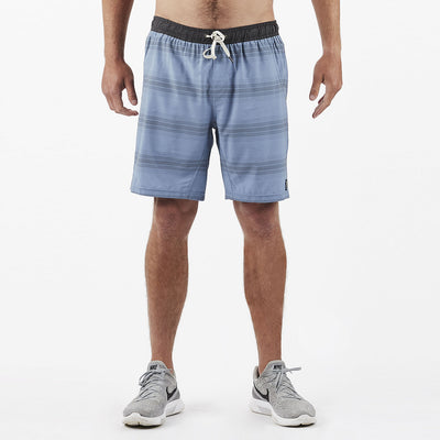 Kore Short | Slate/Charcoal Stripe