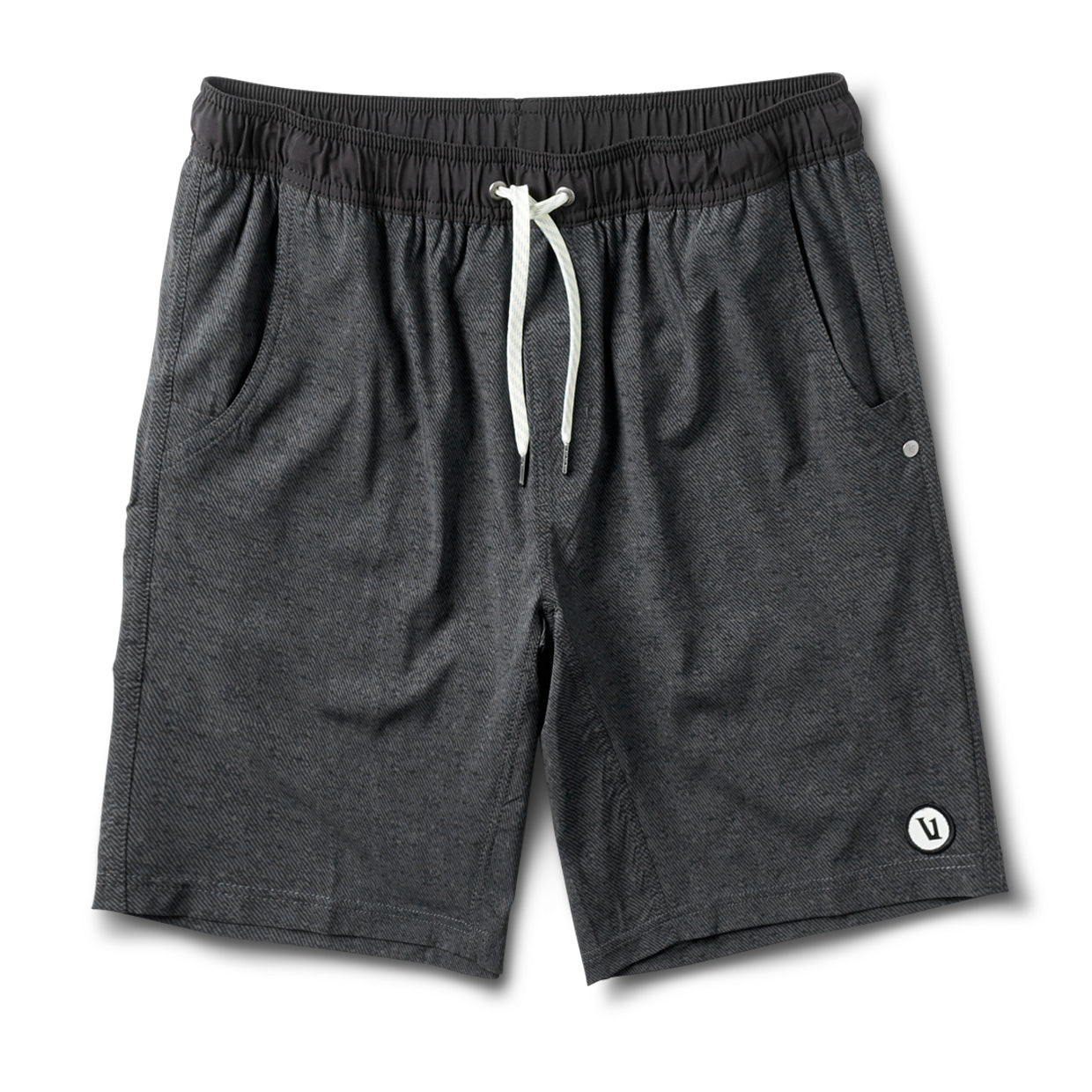 Kore Short | Charcoal Twill Texture