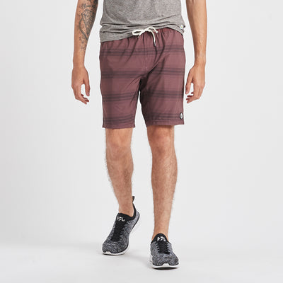 Kore Short | Fig Black Stripe