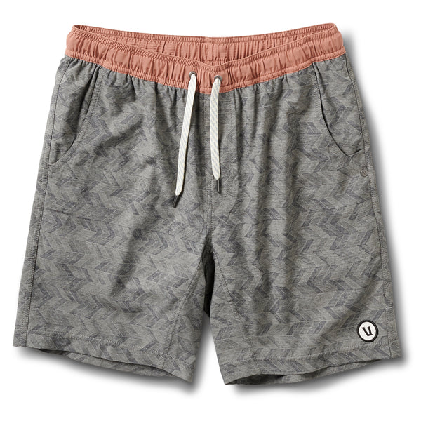 Kore Short | Grey Herringbone