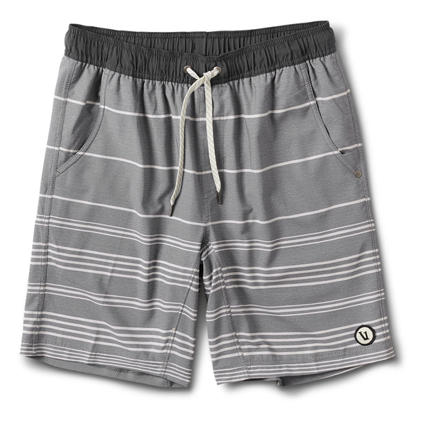 Kore Short | Heather Grey Stripe