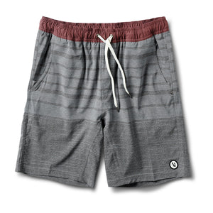 Kore Short | Grey Varied Stripe