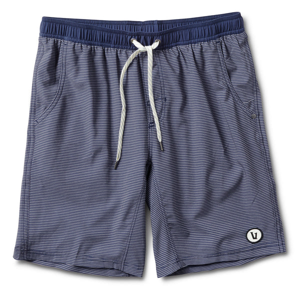 Kore Short | Navy Charcoal Stripe