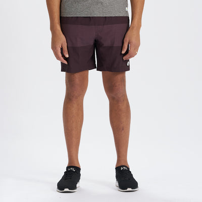 Kore Short | Oxblood Texture Block